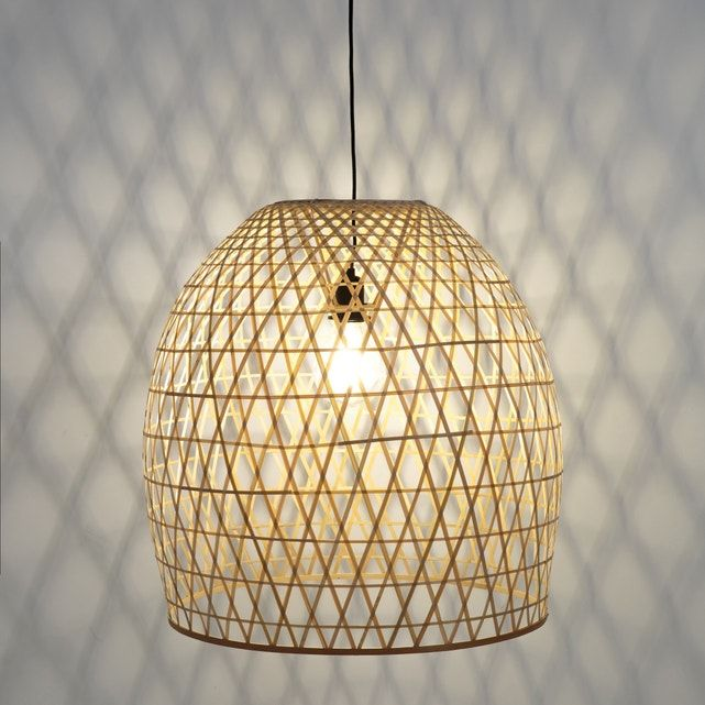 Teyda Bamboo Ceiling Pendant Shade 55cm Ceiling Pendant