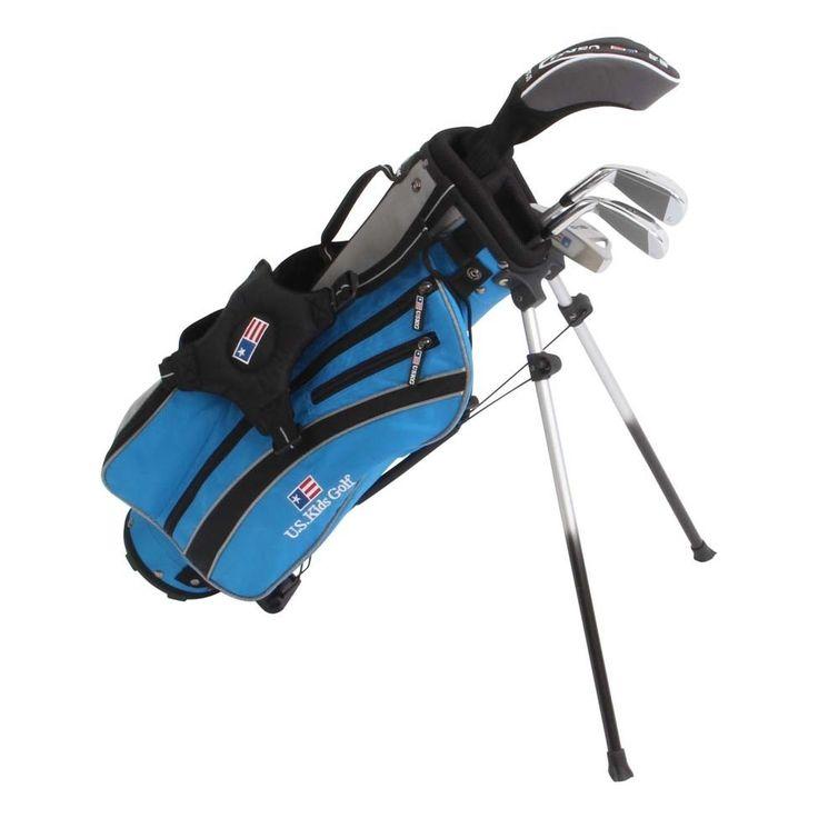 US Kids Golf UltraLight UL45 4 Club Set with Stand Bag - Golf Clubs - Puetz Golf