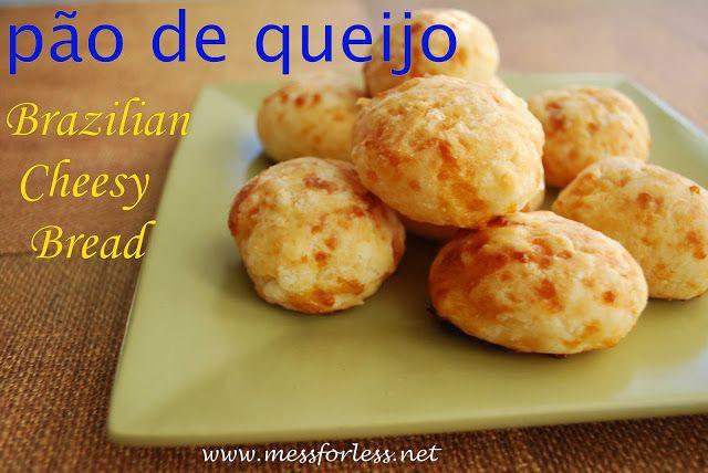 Food Fun Friday: Pão de queijo Recipe -Brazilian Cheese Bread