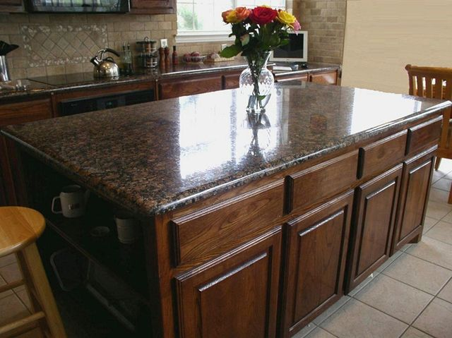 Baltic Brown Granite Counter What Backsplash Baltic