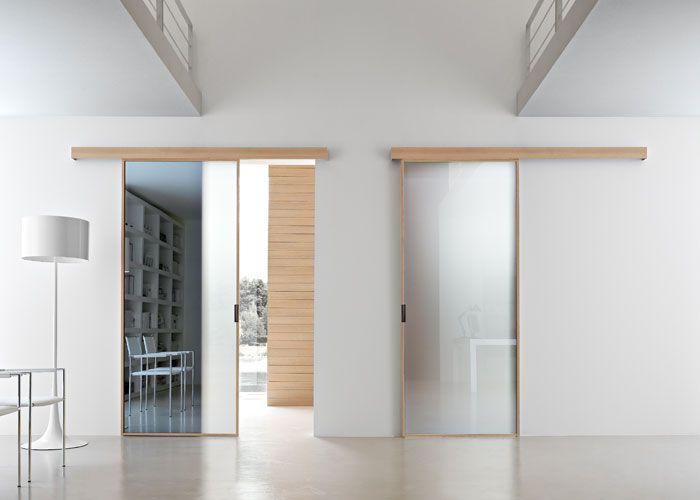 17 migliori idee su porte scorrevoli per cucina su - Porte a vetri scorrevoli per interni ...