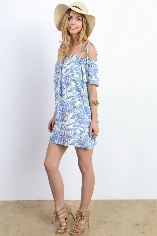 a7581d64be Off Shoulder Relaxed Mini Dress Marina Laswick