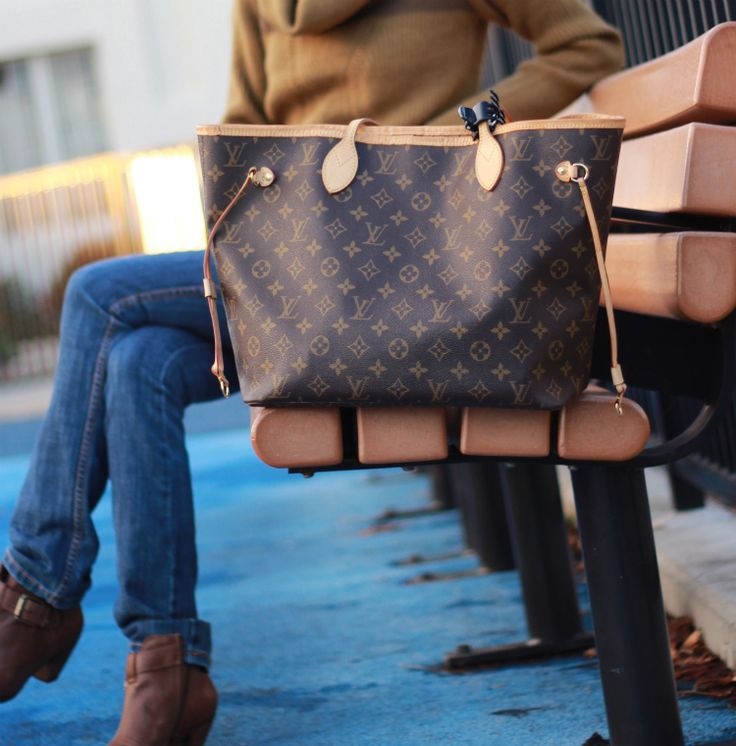 To carry the kitchen sink and then some.  Louis Vuitton Neverfull MM