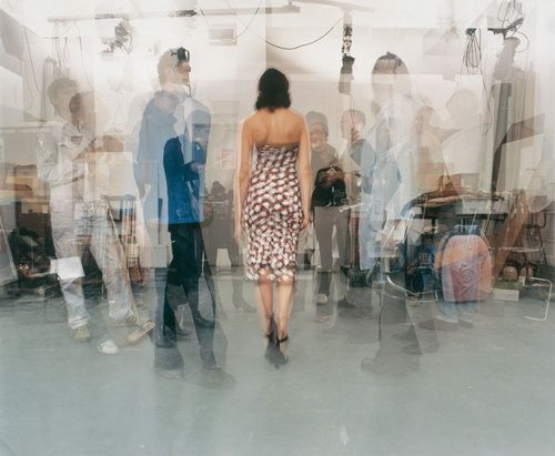 The Artist Circulates - Amongst Curators, Journalists, Technicians And Her Colleagues - John Hilliard - Conceptual Art, Photo, 2005