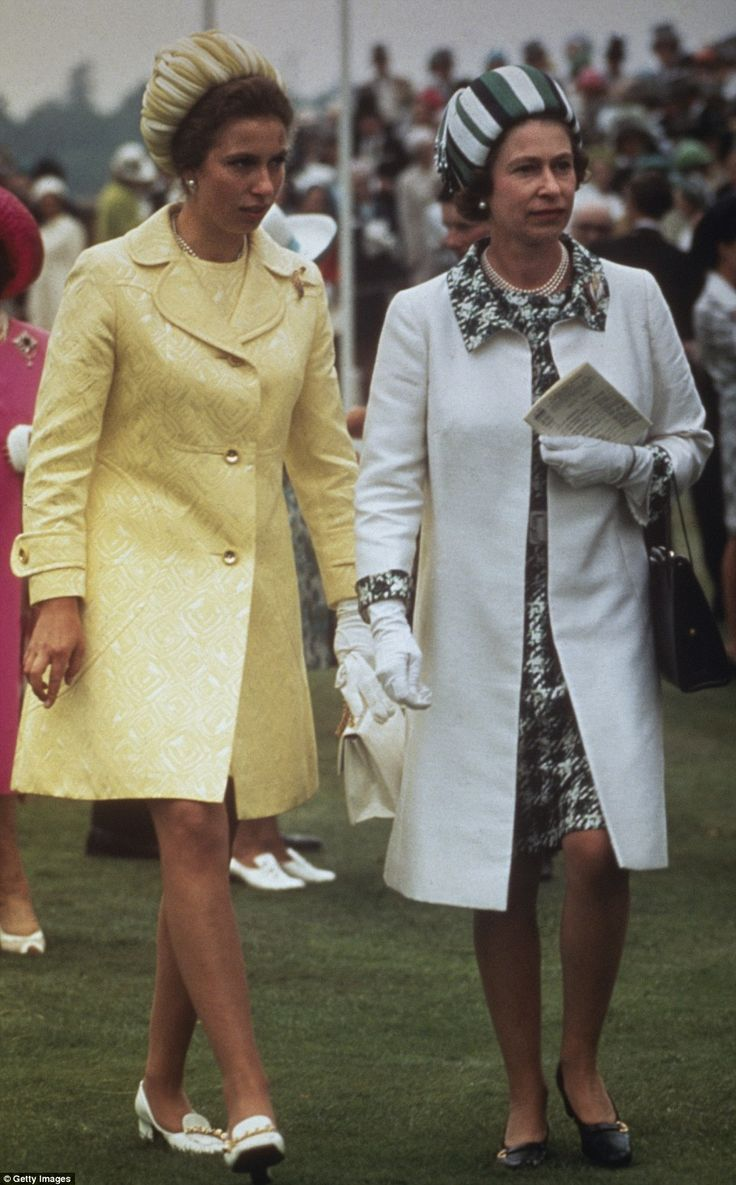 Princess Anne persuaded her mother to modernise her wardrobe — and raise her hemlines. Thi...