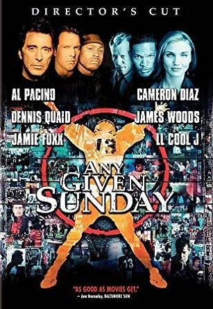 AL PACINO & JAIME FOXX & OLIVER STONE & & 0 more - ANY GIVEN SUNDAY (DVD/WS/DIRECTORS CUT/RE-PKG) ANY GIVEN SUNDAY (DVD/WS/DIRECTOR