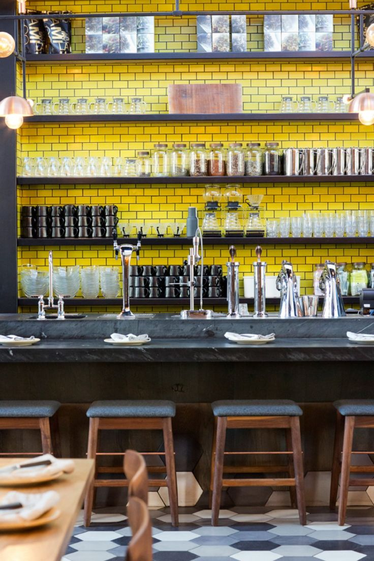 Otium Restaurant | House of Honey | Furniture, Textiles, Decorative Objects | Interior Design by Tamara Kaye-Honey