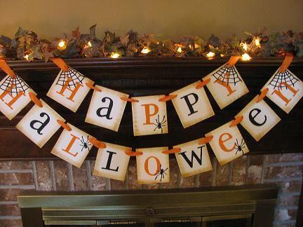 Best 25+ Happy halloween banner ideas on Pinterest | Halloween ...