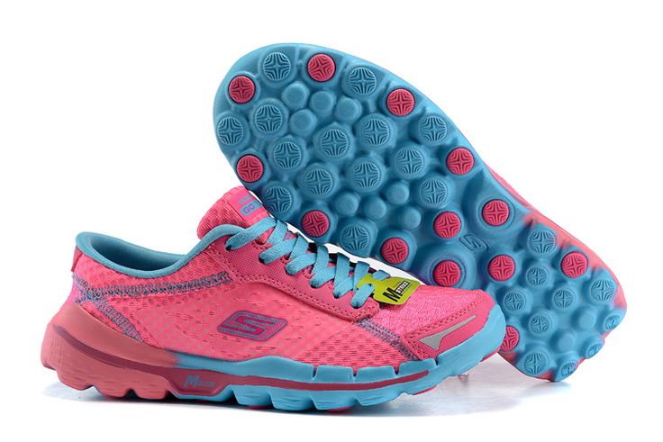 2016 Skechers Performance Division Women's Gorunning Shoes Pink Blue : Skechers Outlet,Skechers Shoes | Skechers Go Walk,Go Flex Walk Store