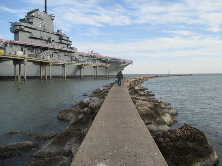 Uss lexington corpus christi and fishing on pinterest for Corpus christi fishing spots