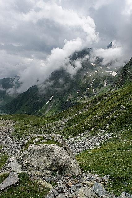 Caucasus Mountains Arhyz Russia