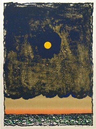 Cave to Canvas, Pierre Alechinsky,Low Tide (Marée basse), 1977