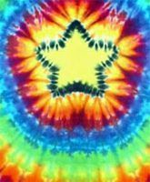 How to Tie-Dye a Star