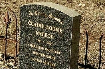 Claire, we miss you!  Still breaks my heart when I see the episdoe where she dies.