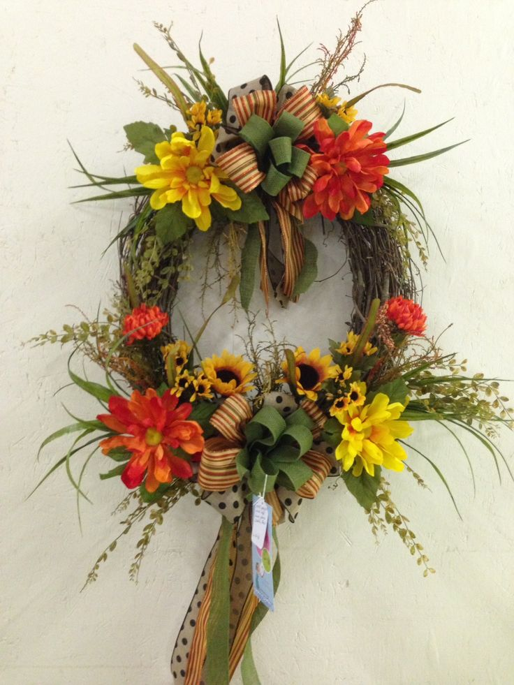 Fall Grapevine Wreath 2014 Corporate Designs Pinterest