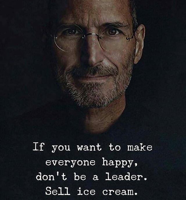 menjadi seorang pemimpin adalah pekerjaan yang tidak mudah
