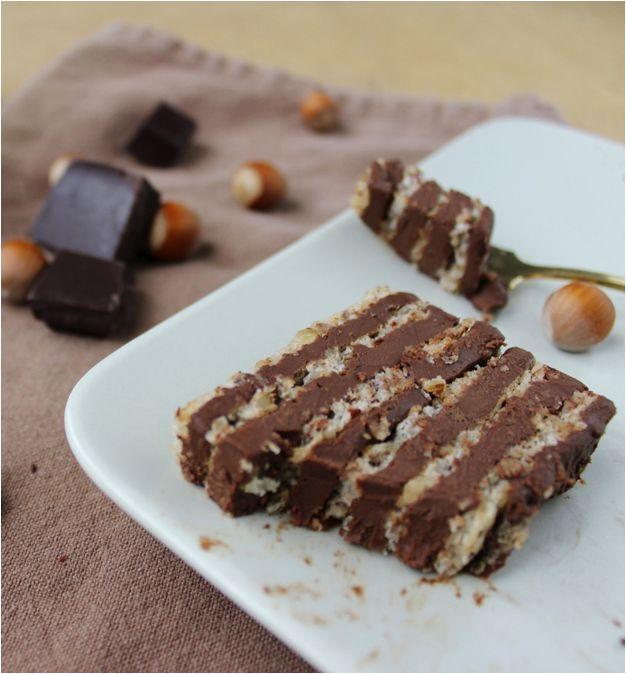Recette du succès aux noisettes et au chocolat | La ligne gourmande