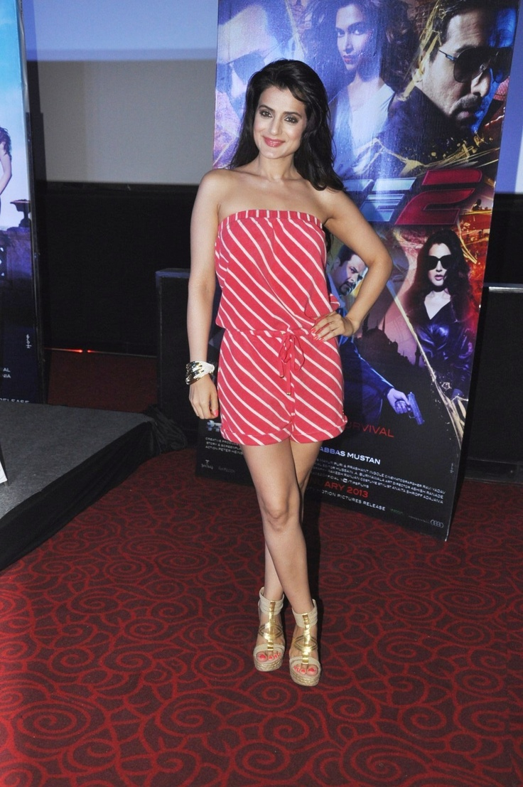 Amisha Patel at Movie RACE-2  Press Conference.