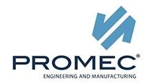 Logo Promec, azienda che progetta e produce attrezzature (meccaniche, idrauliche, pneumatiche, automatiche), stampi e macchine speciali.