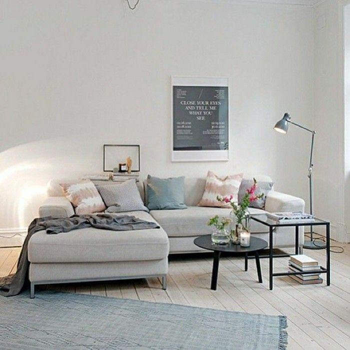 41 Images De Canapé Du0027angle Gris Qui Vous Inspire! Voyez Nos Propositions  En Photos! Simple Living Room ...
