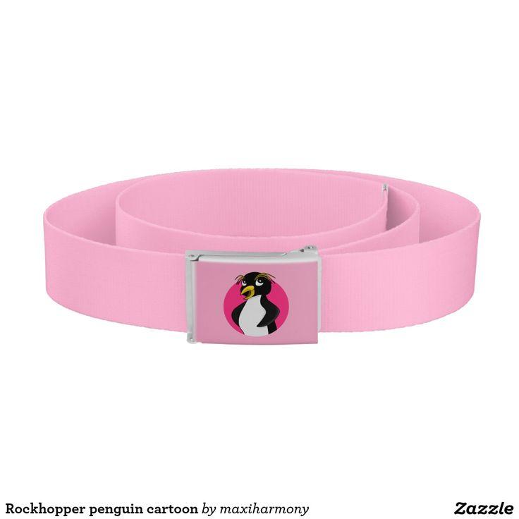 Rockhopper penguin cartoon belt