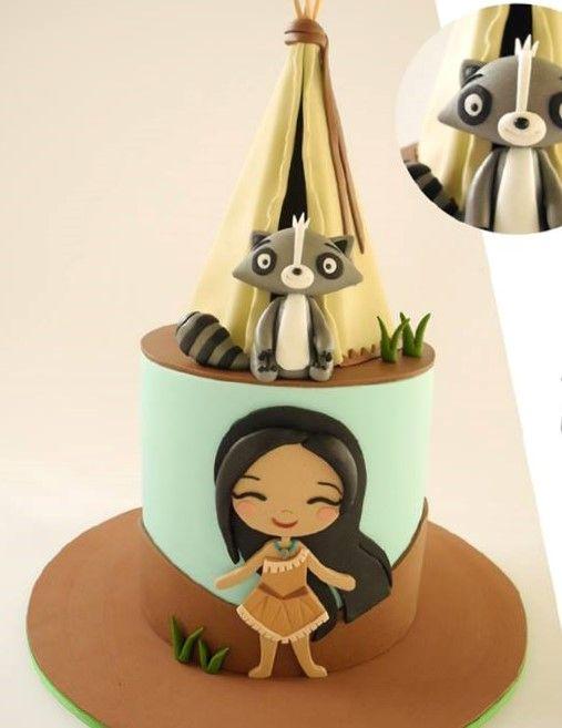 Torta Pocahontas