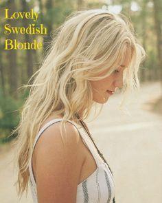 swedish blonde hair - Google Search