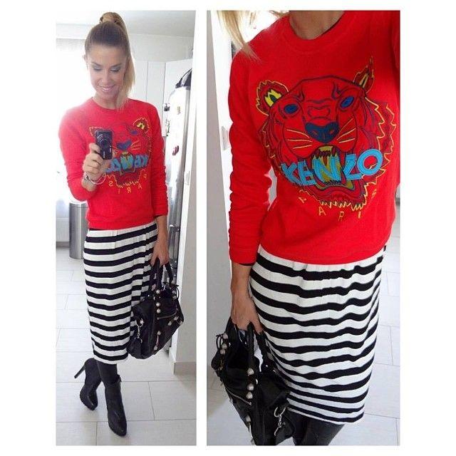 .@Dukai Regina | Me Today  #reginadukai #metoday #outfit #fashion #kenzo #tiger #hm #zara | Webstagram