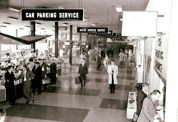 Essendon Airport 1960's