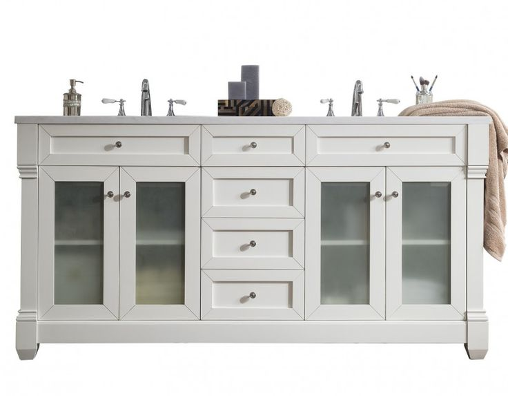 Website Picture Gallery Design Element Moscony Inch Double Sink Vanity Set In White is made by the brand Design Element and is a member of the Moscony collection
