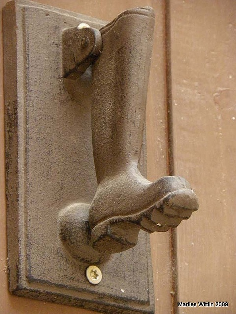 boot doorknocker