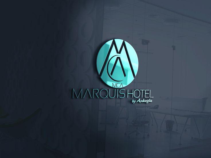 Marquis Hotel by Aşıkoğlu alanya logo tasarımı 3boxcreative