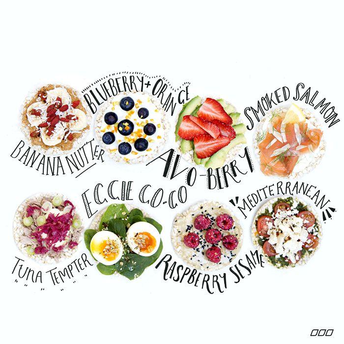 Rice Cake Snacks | #recipe #Healthy @xhealthyrecipex |