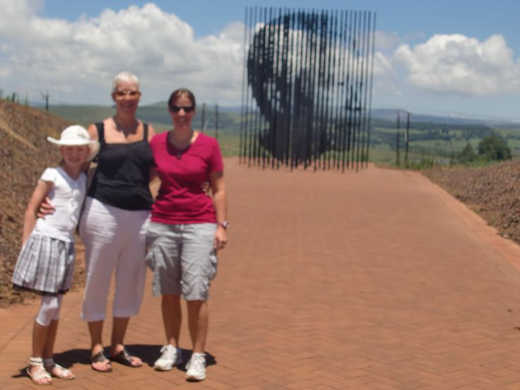 Madiba statue in Midlands South Africa