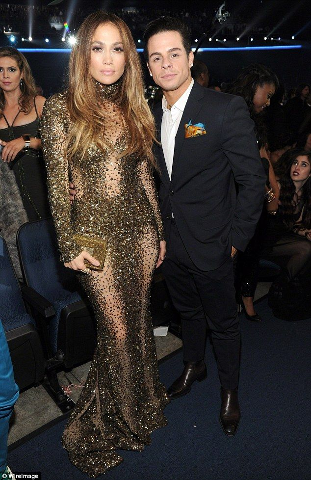 Inseparable: Theystepped out together in fall 2013 just a few months after J Lo split from husband of seven years Marc Anthony (pictured in November 2013 at the American Music Awards)