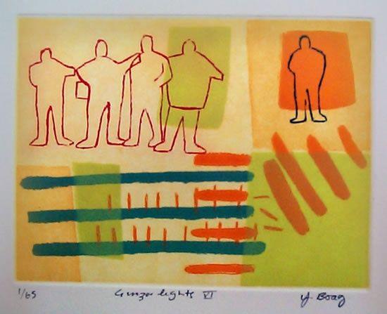 Yvonne Boag - etching