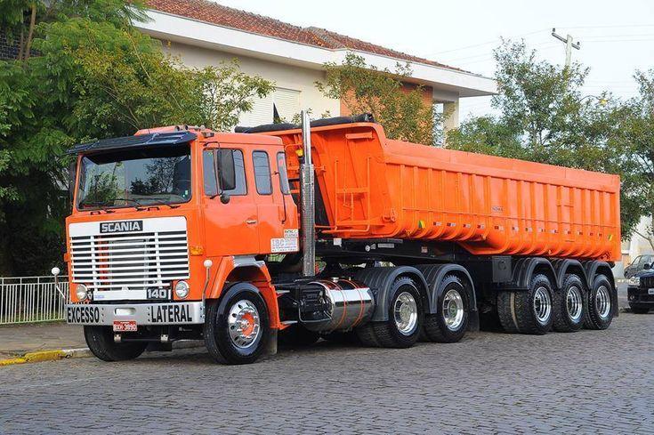 Para encerrar os posts dessa segunda feira, Scania 140 V8 + Caçamba Noma, o que vocês acham desse conjunto?