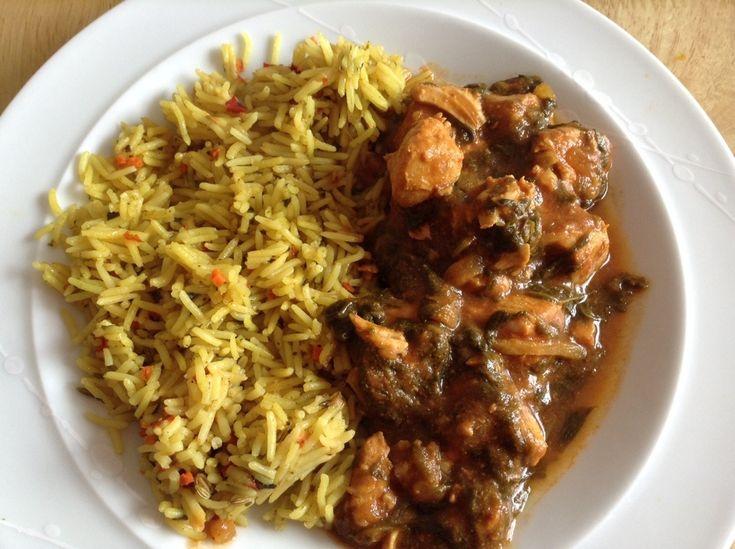 Slow cooker chicken saag curry by BakingQueen74