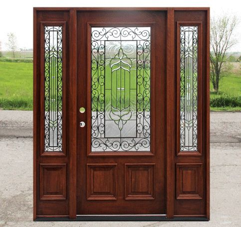 40 best images about front entry doors with sidelights on for Double opening front doors