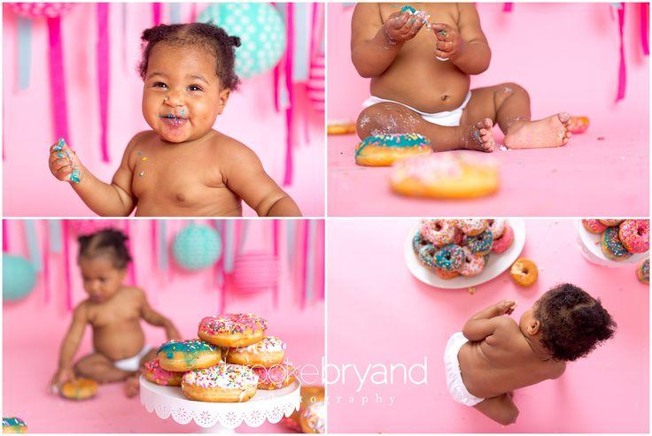 Doughnut Baby Photo Session | San Francisco Baby Photos | Brooke Bryand Photography | Donut Smash Photo Shoot