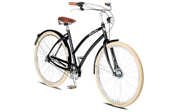 Rower Miejski Damski Cruiser Johnny Loco. Model atrakcyjny dla kobiet, które cenią sobie elegancję oraz aktywny tryb życia. Świetne połączenie uniwersalności i użytkowości. http://damelo.pl/damskie-rowery-miejskie-cruiser/431-rower.html#moreinfo