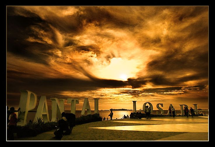 This is the most beautiful beach in my town,Makassar,sulawesi-selatan,Indonesia