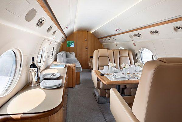 Private Gulfstream Jet 2 by Shelton, Mindel, & Assc.