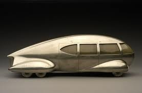 "Motor Car No. 8,"" Norman Bel Geddes, 1932