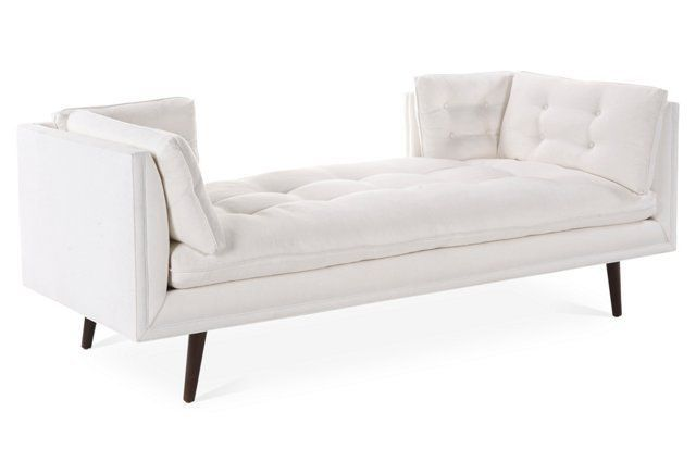 Donovan Daybed, White Linen