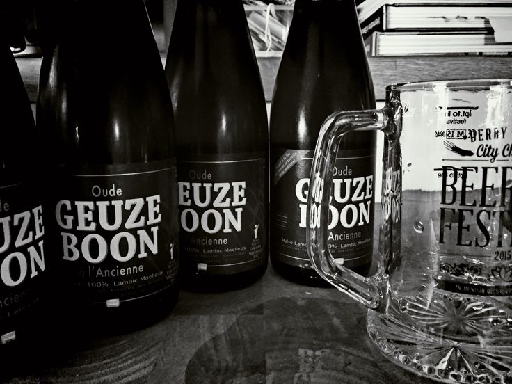 Oude Geuze Boon. One of my favourite beers, beaten only by Boon's  Mariage Parfait and Cantillon.