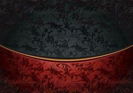 векторная графика, другое , other, dark, орнамент, винтаж, узор, black, ретро, vintage, vector, gradient, background