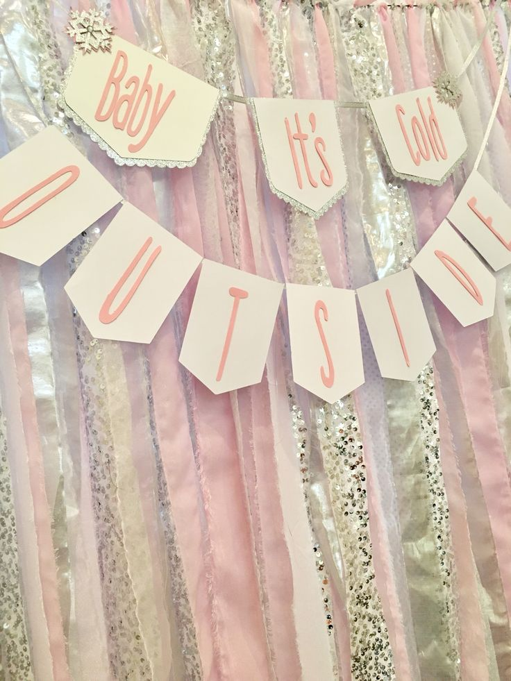 Baby it's cold outside, winter Wonderland,winter Wonderland backdrop, winter wonderland party ideas, girl winter Wonderland party ideas, winter onderland, onderland, baby it's cold outside baby shower, baby it's cold outside birthday party, winter Wonderland banner, baby it's cold outside banner