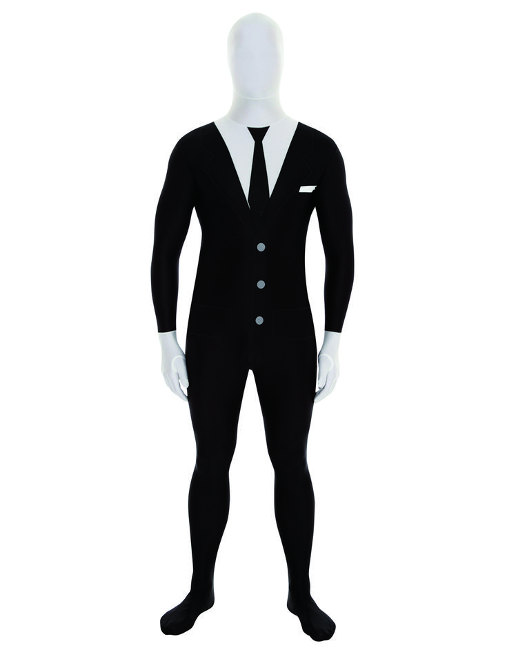 Disfraz Morphsuits™ Slender Man adulto