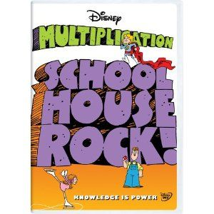 Schoolhouse Rock: Multiplication Classroom Edition [Interactive DVD]-Songs to Memorize Multiplication Tables